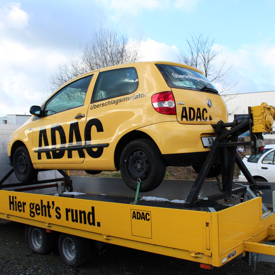 ADAC Überschlagsimulator Bauer Beratung & Vertrieb AG