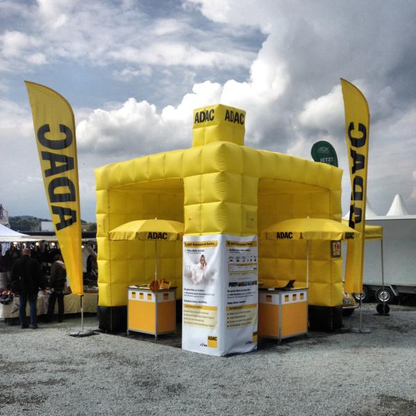 ADAC Vertriebsagentur Bauer & Vertrieb POS Stand